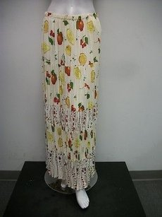 My Boyfriends Back Ivory Maxi Skirt Multi-Color