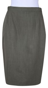 Escada Margaretha Lev Womens Skirt Brown