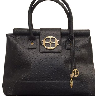 Iman Black Satchel
