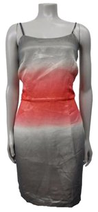 Other Burlapp Neiman Marcus Ombre Silk Dress