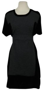 Other short dress Black Sonia Sonia Rykiel Womens Shift Knee Length Short Sleeve Career on Tradesy