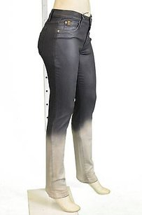 Other Second Yoga Pearl Gray Ombre Coated Skinny 170471e Skinny Jeans