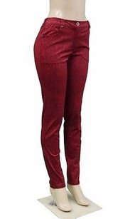 Mado Et Les Autres Rouge Red Skinny Jeans