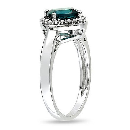 Other Sterling Silver 1 34 Ct Tgw Emerald Fashion Ring