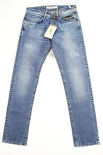 Siviglia Womens Blue Straight Leg Jeans