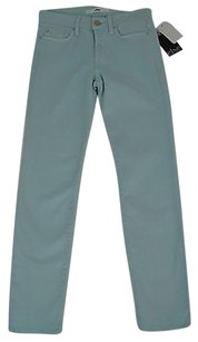 Other Else Womens Light Blue Ankle Cropped 24w X 28l Straight Leg Jeans
