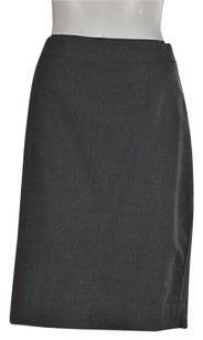 Other J Crew Super 120s Womens Straight Career Wtw Skirt Gray