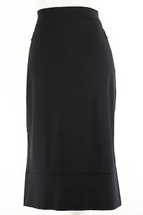 Other Aktive By Krizia 1362h09633 Stretch Knit Womens Skirt Black