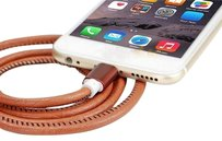 Super Strong Leather Micro USB Cable for iPhone iPad mini & Samsung