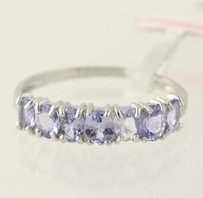 Other Tanzanite Ring - 925 Sterling Silver Band Womens Fine Estate .97ctw 14