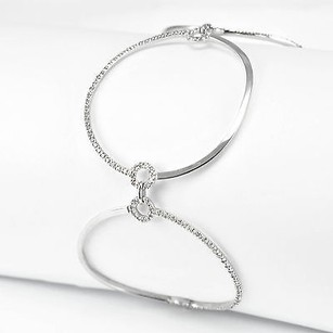 Tennis Bracelet K White Gold Grams 1.80 Ct Diamonds Womens