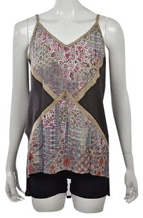 Sw Bespoke Womens Gray Top Multi-Color