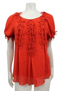 Leifsdottir Bow Bounty Top Red