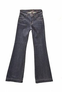 Other Town Angel High Rise Indigo Wash 160974tag Trouser/Wide Leg Jeans