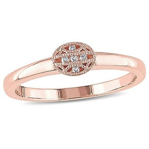 Other Versace 19.69 Abbigliamento Sportivo 14k Rose Gold Diamond Accent Ring