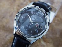 Very Seiko Jumbo Sportsmatic Made In Japan Mens Dress Watch Pb17
