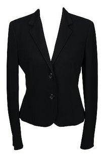 Whos Who Womens Skirt Suit Black Viscose
