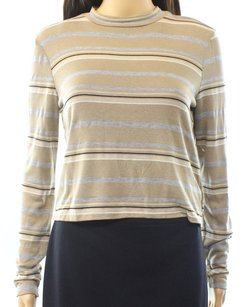 painted threads Cotton-blends Long-sleeve Top