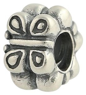 PANDORA Pandora Butterfly Charm - Sterling Silver Disc 790285