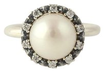 PANDORA Pandora Ring - Sterling Silver 190916p Everlasting Grace Pearl Cz 6.75