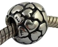PANDORA Pandora Sterling Silver Lotsa Lot Of Love Bead Charm 790174