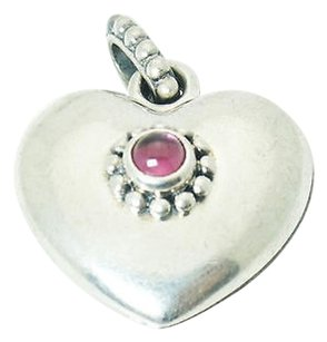 PANDORA Pandora Sterling Silver Treasured Hearts Pendant T3
