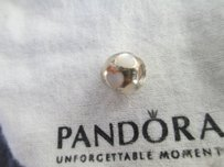 PANDORA sale Authentic Pandora #790398MPW Love Me Bead with Mother of Pearl