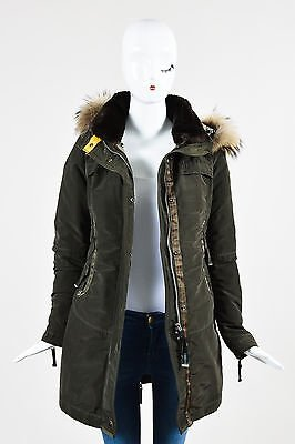Other Parajumpers Down Raccoon Fur Hooded Selma Parka Coat ...