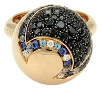 Pasquale Bruni Pasquale Bruni Sogni Doro 18k Rose Gold Diamond Gem Ball Ring-