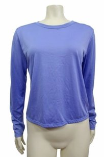 Patagonia Patagonia Capilene Light Blue Athletic Crew Neck Long Sleeves Top