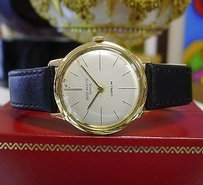 Patek Philippe Mens Vintage Patek Philippe Gubelin 18k Yellow Gold Ref. 2593 Watch Circa 1957