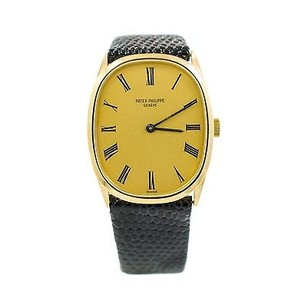 Patek Philippe Patek Philippe 3546 Solid 18k Yellow Gold Elipse Manual Winding Mens Watch