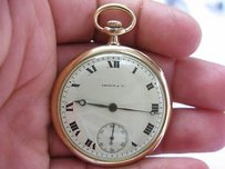 Patek Philippe Patek Philippe - Shreve Co Open Face Pocket Watch 18k
