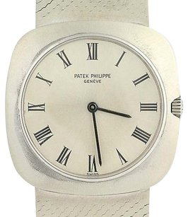 Patek Philippe Patek Philippe Ladies Watch - 18k White Gold Swiss Mechanical