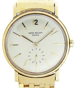 Patek Philippe Patek Philippe 2548 Vintage 18k Yellow Gold 1950s Mens Watch