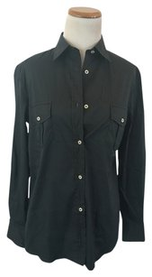 Paul & Shark Yachting Button Down Shirt Navy