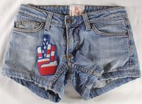 People's Liberation 26 Grab Patched Ss Shorts