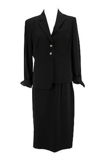 PER TE BY KRIZIA Good Per Te By Krizia 21 Womens Suit Black Polyester - Nbw