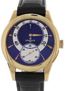 Perrelet Mens Perrelet Jumping Hours 18k Rose Gold A3009a037