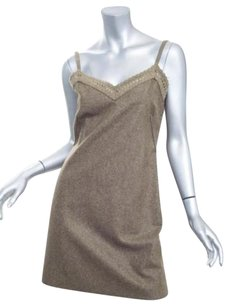 Philosophy di Alberta Ferretti short dress Brown on Tradesy