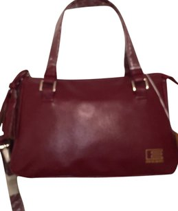 Pierre Cardin Faux Leather New Nwt Satchel in Red