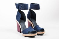 Pierre Hardy Navy Maroon Blue Sandals