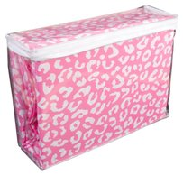 PINK Victoria's Secret Sheet Set in Pink Animal: Twin XL - NEW