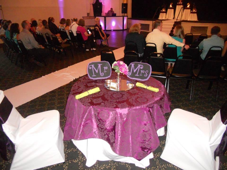 Plum/Purple Tablecloth