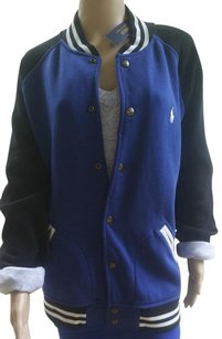 Polo Ralph Lauren Mens Baseball Chase Blue Jacket