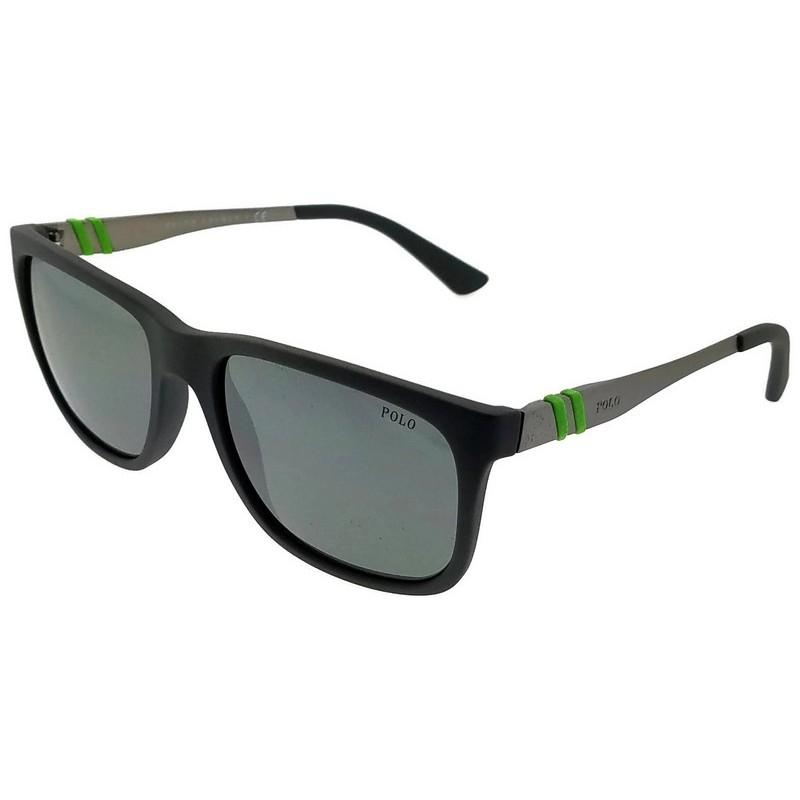02fb3ac78fa ... germany polo ralph lauren ph4088 54216g wayfarer mens grey frame grey  lens sunglasses ea034 42470