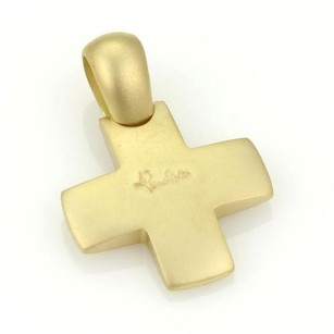 Pomellato Pomellato 18kt Yellow Gold Cross Pendant