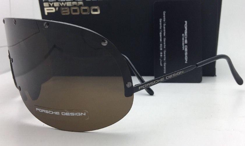 Porsche Design Black P 8000 Sunglasses Tradesy