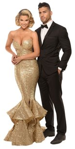 Portia and Scarlett Sequin Mermaid Evening Dress