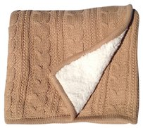 Pottery Barn Cozy Cable Knit Throw